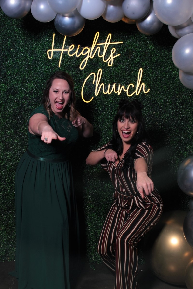 Mirror Photo Booth for Heights Church 5th Birthday